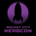 Rocket City NerdCon 2017 Logo